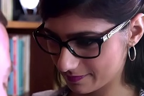 Beefy special and beamy booty arabic mollycoddle Mia Khalifa gets drilled