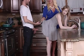Up against it Stepmother Demands A Strong Dick